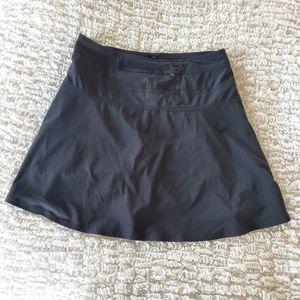 Athleta black running skirt size 10